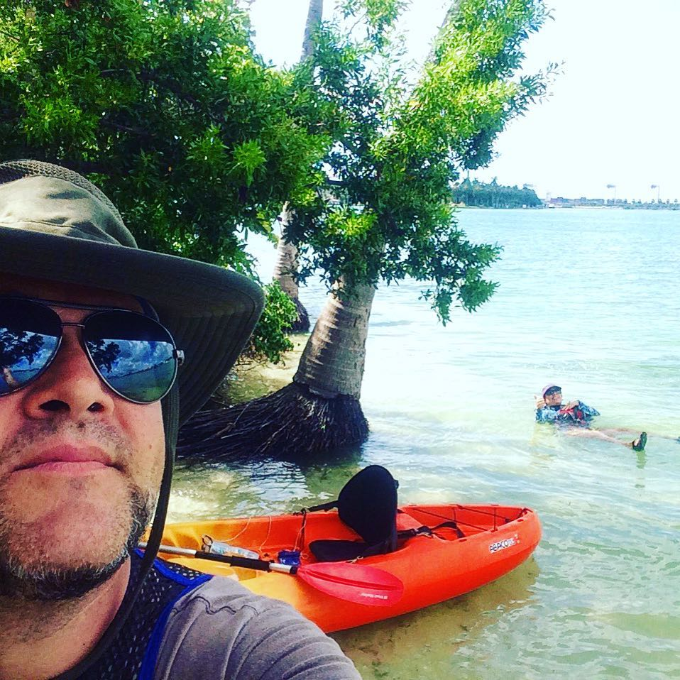 @thefullpike works many weekends and evenings so I can take my wife kayaking to Monument Island on a gorgeous Friday morning!