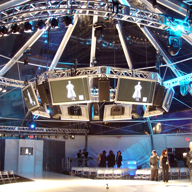 Audio Visual Lighting The Full Pike - West Hollywood (Los Angeles) CA 2005