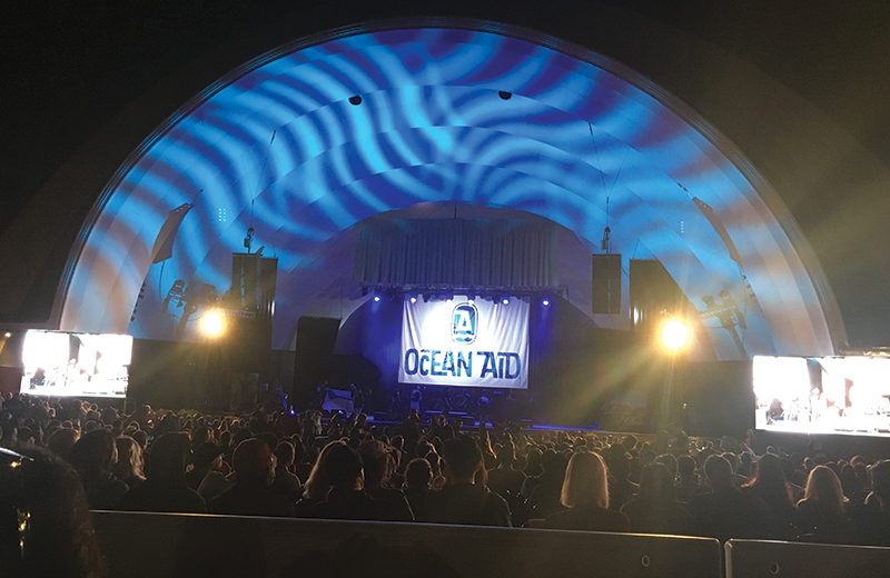 Ocean Aid Festival. AV Concert Production Support - Waikiki Bandshell Hawaii 2017